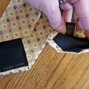 Robert Talbott Accessories - Robert Talbott for Nordstrom silk tie lot